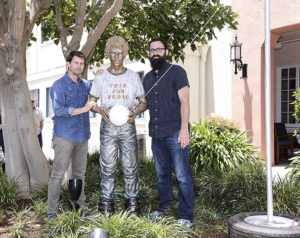 Sweet! Napoleon Dynamite statue unveiled for 10th anniversary